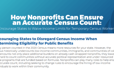 Take Action! Urge Your State to Issue Waivers for Census Workers